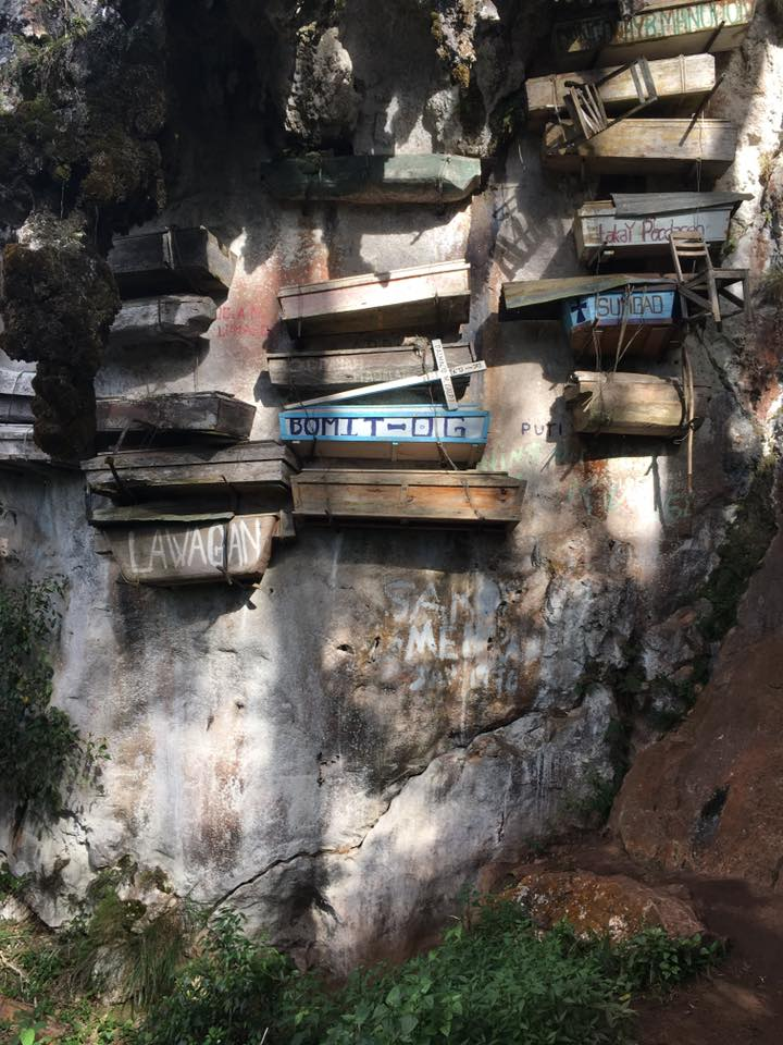 Hanging coffins of Sagoda, Phillipines