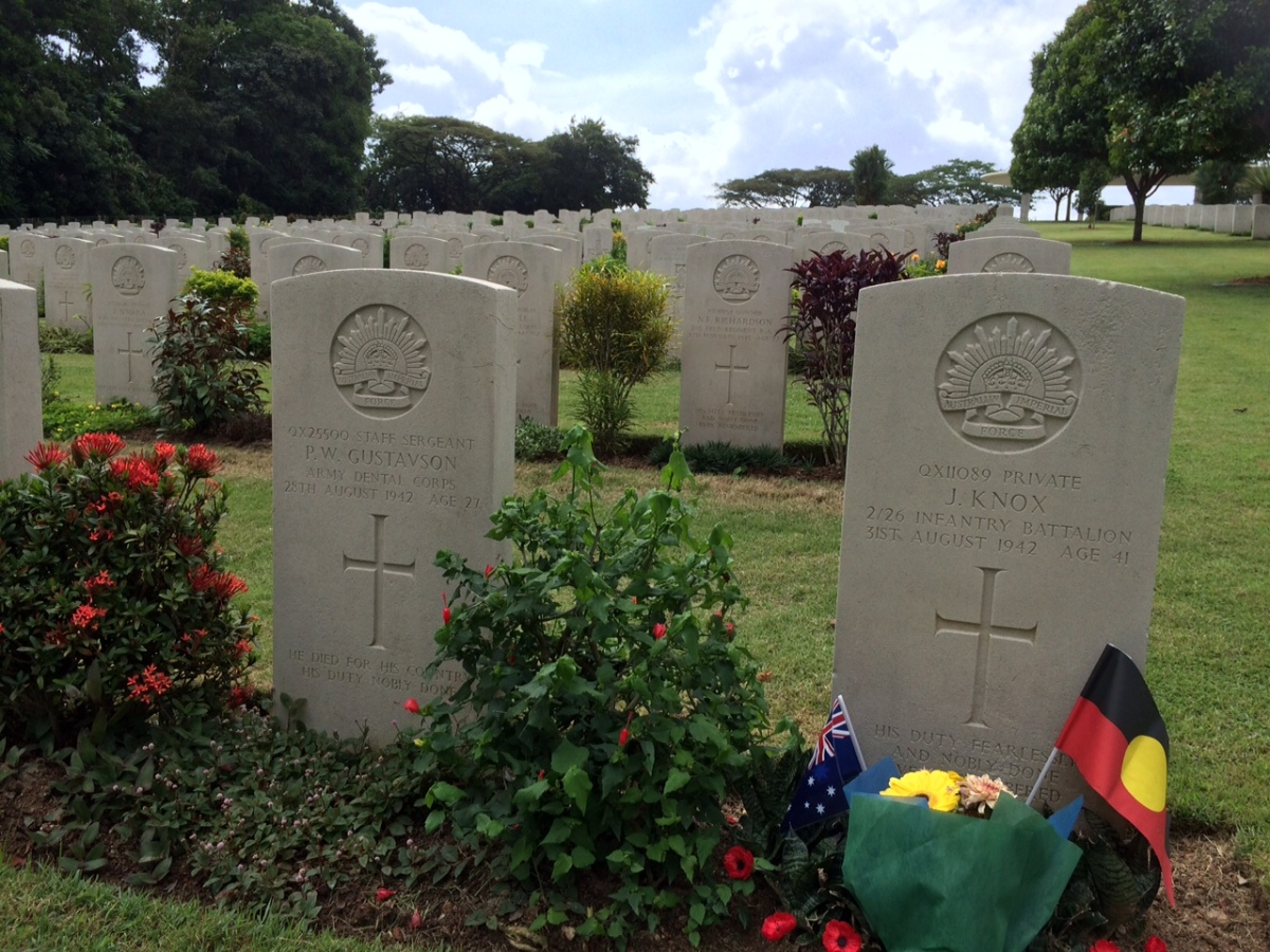 A mass grave and tributes to our war dead: Kranji War Cemetery, Singapore
