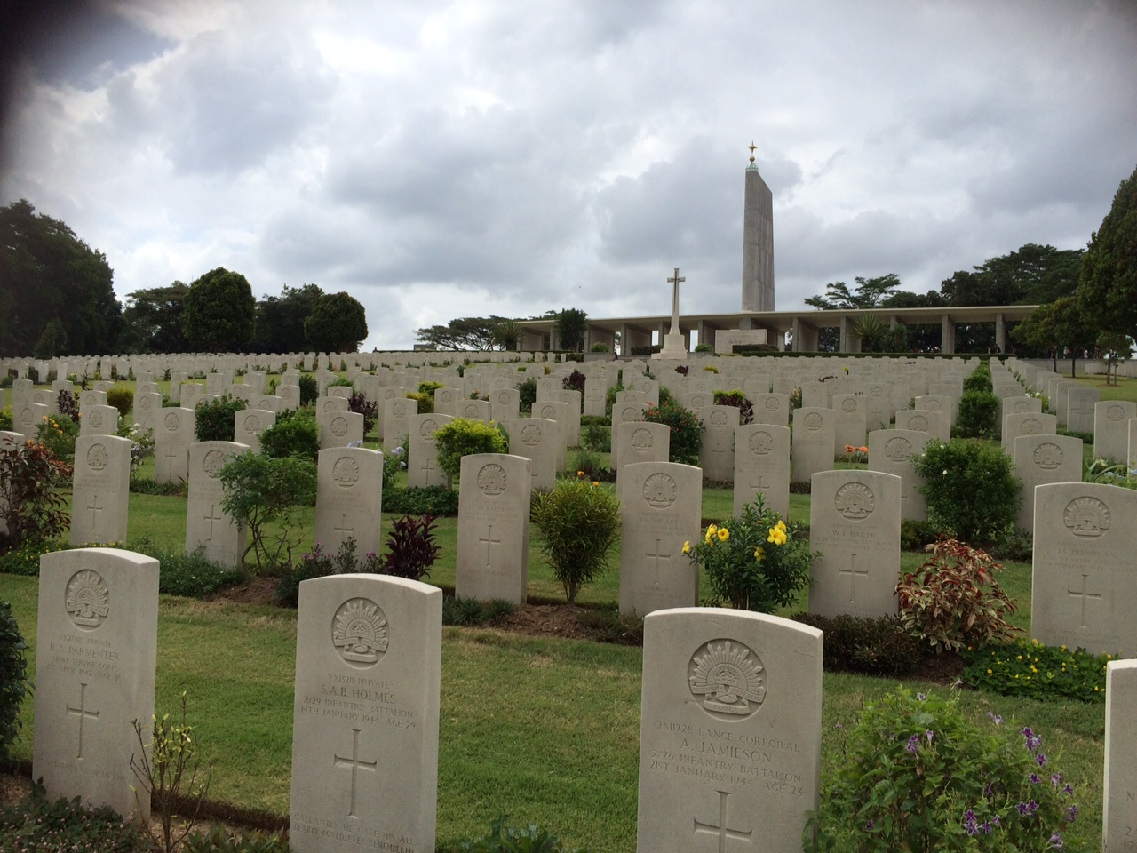 The Kranji War Cemetery, Singapore