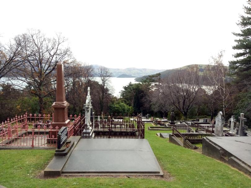 The Roman Catholic Cemetery at Akaroa