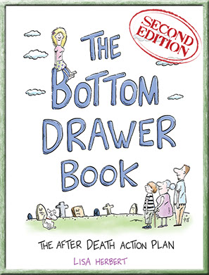 The Bottom Drawer Book: the after death action plan cover