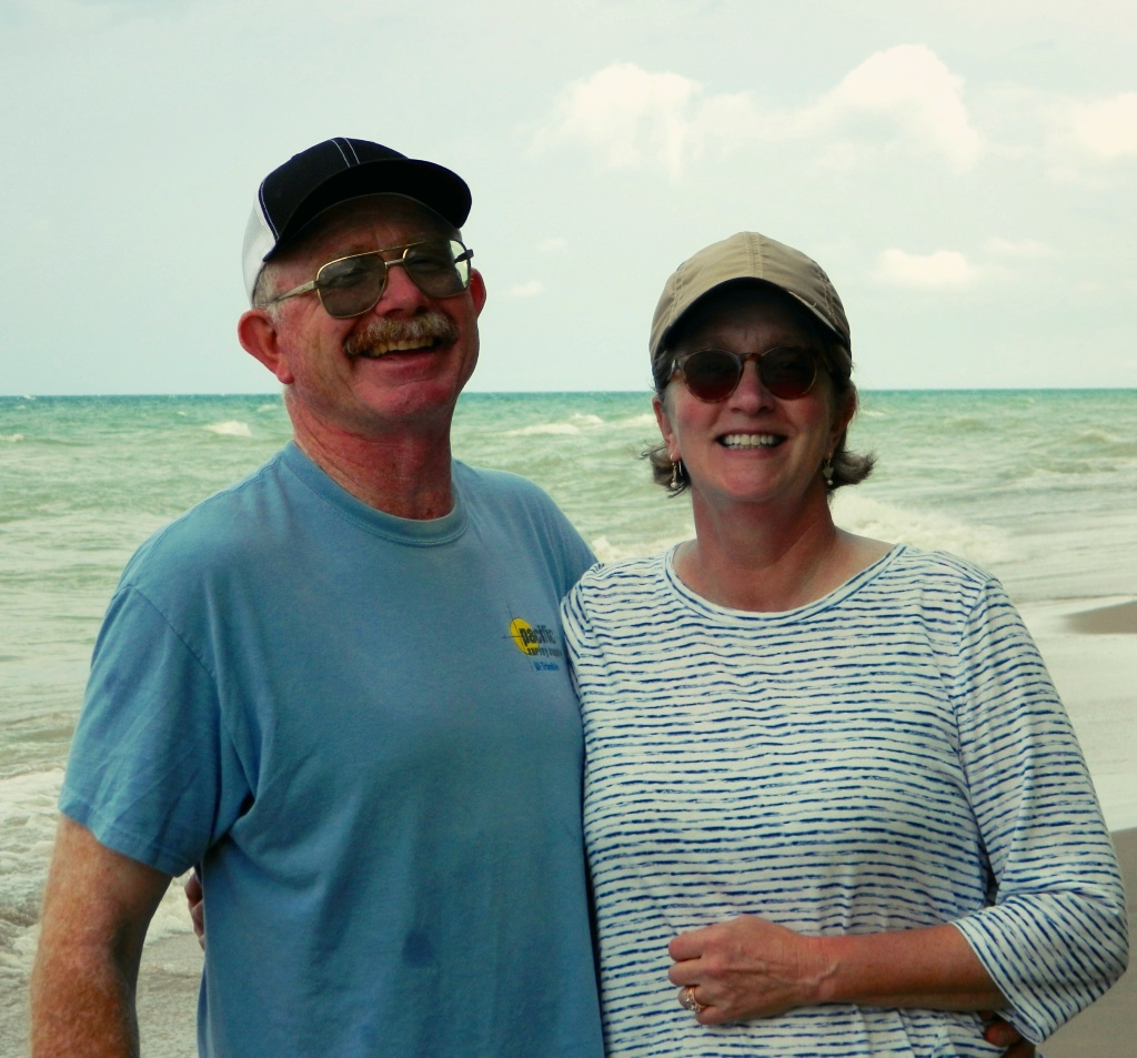 Nancy and her second husband Matt. Her first husband Bob died in 2013.