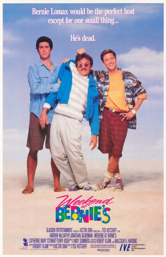 Weekend at Bernie's was a 1989 black comedy.