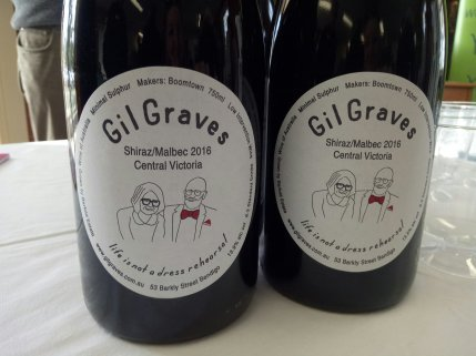GilGraves is an organic wine grown between Bendigo and Heathcote is central Victoria.